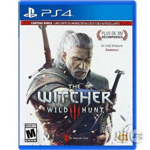 Witcher 3 Ps4 Playstation 4   Video Games for sale in Lagos State, Lekki