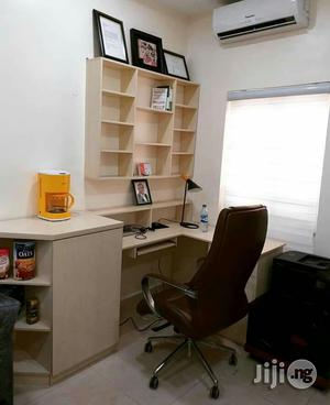 Office Table With Shelve   Furniture for sale in Lagos State, Ikeja
