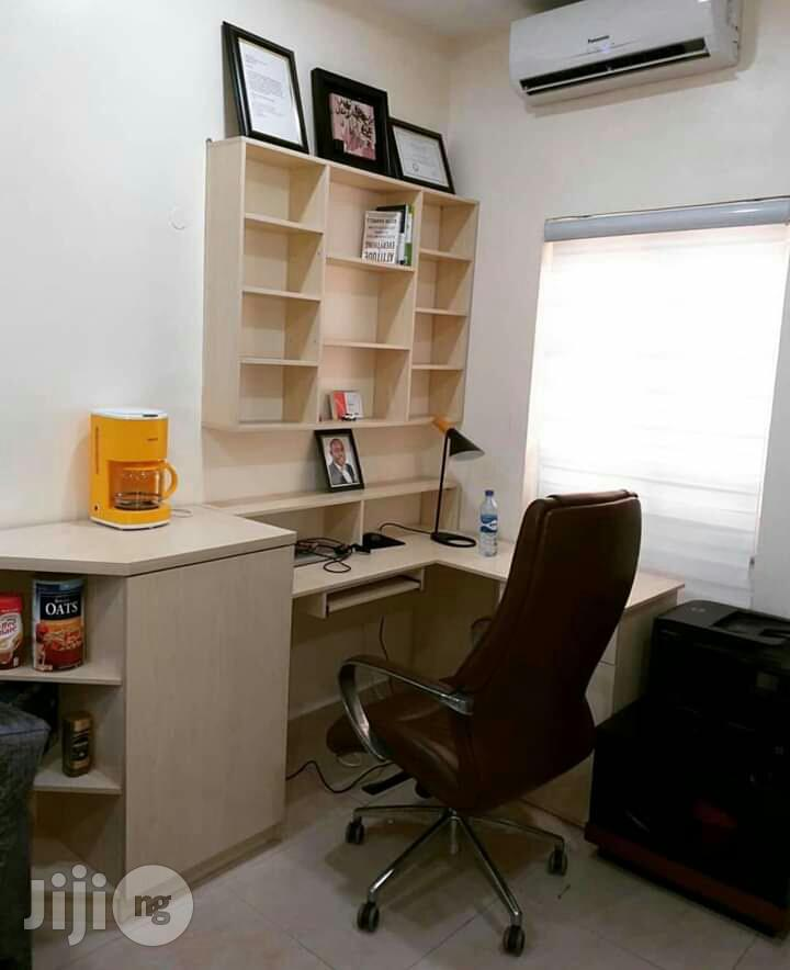 Office Table With Shelve