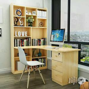 Office Table With Shelf   Furniture for sale in Lagos State, Ikeja