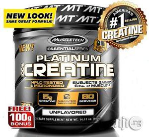 Muscletech 100% Pure Micronized Creatine Powder - 400g   Vitamins & Supplements for sale in Lagos State, Lekki