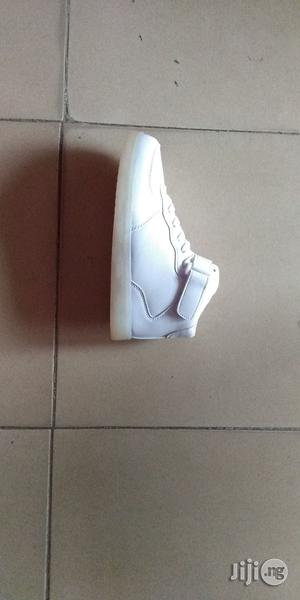 Led White Canvas Sneakers | Children's Shoes for sale in Lagos State, Lagos Island (Eko)