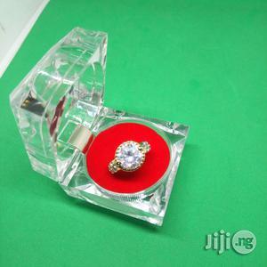 U.S Splendid Diamond Sterling Silver Ladies Engagement Ring - Gold | Wedding Wear & Accessories for sale in Lagos State, Ikeja