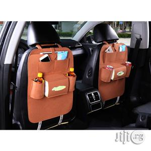 Brown High Quality Car Back Seat Organizer   Vehicle Parts & Accessories for sale in Lagos State, Victoria Island
