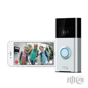 USA Ring Wi-fi Enabled Video Doorbell In Satin Nickel Works With Alexa | Home Appliances for sale in Lagos State, Alimosho