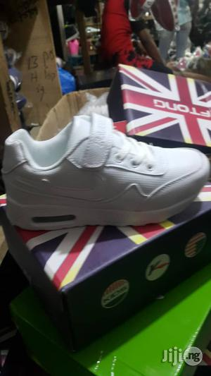 White Cut Canvas Sneakers For Kids | Children's Shoes for sale in Lagos State, Lagos Island (Eko)