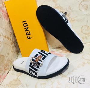 Original Fendi Pam Slippers for Classic Men   Shoes for sale in Lagos State, Lagos Island (Eko)