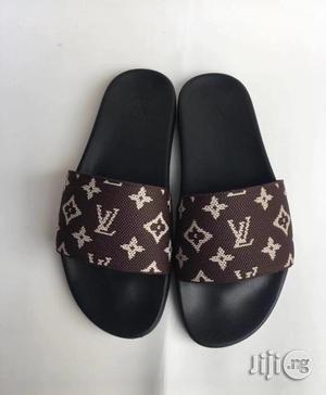 Original Louis Vuitton Pam Slippers | Shoes for sale in Lagos State, Lagos Island (Eko)