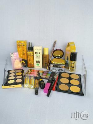 Complete Makeup Set+32 Set Brushes   Makeup for sale in Lagos State, Ojota