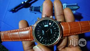 Yazole Mens Leather Watch   Watches for sale in Lagos State
