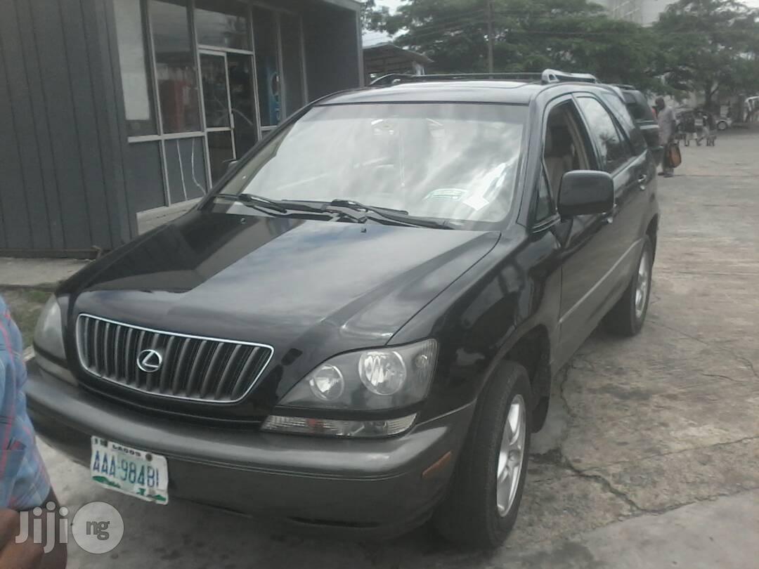 Lexus RX 2003 Black