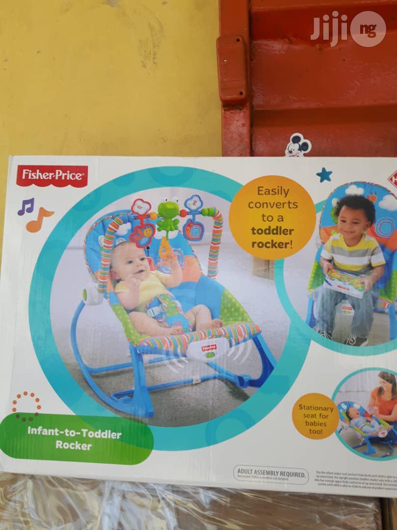 Infant And Toddler Rocker