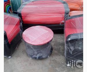 Lovely Sofa Pure Leather Sets Of By 7 Chair And Center Table | Furniture for sale in Lagos State, Ojo