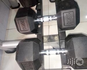 40kg Hexagon Dumbell | Sports Equipment for sale in Lagos State, Ikeja