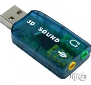 USB Sound Adapter Audio Controller | Computer Accessories  for sale in Lagos State, Ikeja