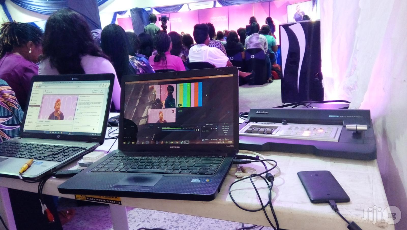 Event Live Streaming Services(Microsoft Team,Zoom) in Lagos   Photography & Video Services for sale in Ikeja, Lagos State, Nigeria