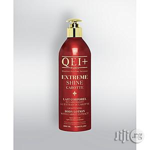 Qei+ Body Lightening Milk Extreme Shine Carrot | Skin Care for sale in Lagos State, Ojo