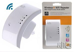 300mbps Wireless Wifi Repeater Powerful Wifi Booster | Networking Products for sale in Lagos State, Ikeja