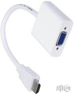 HDMI To VGA Cable HDMI Cable | Accessories & Supplies for Electronics for sale in Lagos State, Ikeja