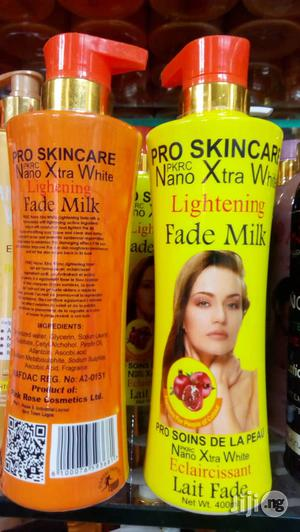 Nano Xtra White Lightening Fade Milk -400ml | Skin Care for sale in Lagos State