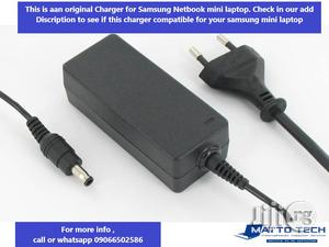 Original Charger For Samsung Mini Netbook Laptop, 40watts, 19voltage | Computer Accessories  for sale in Lagos State, Alimosho