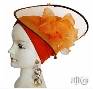 Turban Cap With Fascinator   Clothing Accessories for sale in Lagos State
