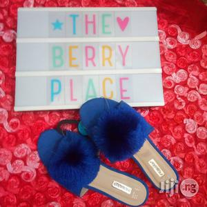 Blue Primark Slippers With Frills | Shoes for sale in Lagos State, Surulere