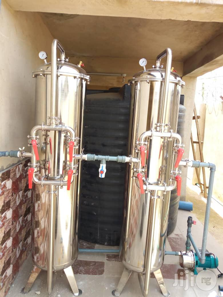 Treatment Tank For Bottle /Sachet Water Production