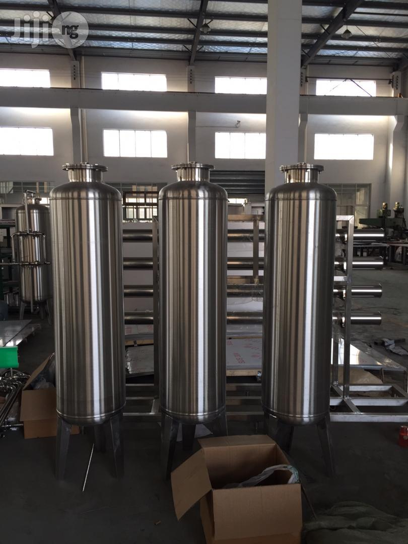 Treatment Tank For Bottle /Sachet Water Production | Manufacturing Equipment for sale in Isolo, Lagos State, Nigeria