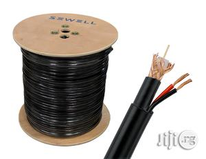 100M High Quality CCTV Video Coax Cable Black   Accessories & Supplies for Electronics for sale in Abuja (FCT) State, Wuse