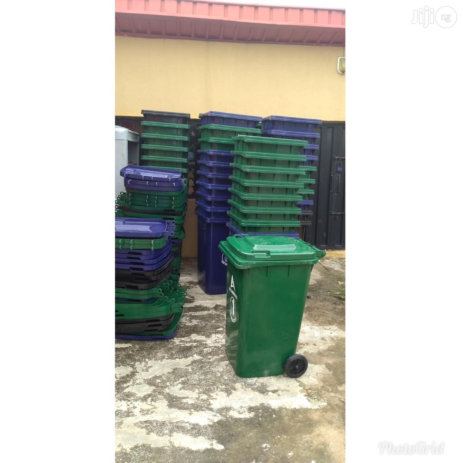 Imported Quality Plastic Waste Bin