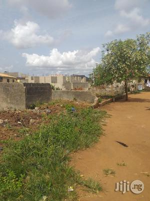 Half Plot Of Land With 3 Bedroom Bungalow With Shop Up To Window Level | Land & Plots For Sale for sale in Lagos State, Ikorodu