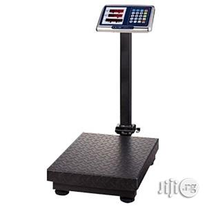 1/1 Camry Camry Camry Digital Platform Scale Double Display Metal Base-300kg | Store Equipment for sale in Lagos State, Lagos Island (Eko)