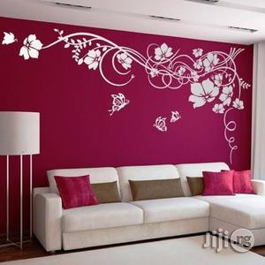 House And Office Painting Interior Decoration Wall Art Designs Wallpaper Installation | Building & Trades Services for sale in Lagos State, Ajah