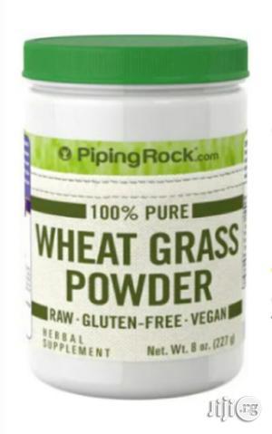Wheat Grass Powder. 8oz (227g)   Vitamins & Supplements for sale in Lagos State, Alimosho