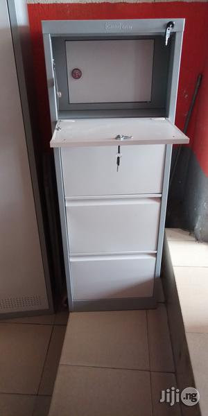 Imported Best Quality Metal Cabinet With Safe | Safetywear & Equipment for sale in Lagos State, Ojo