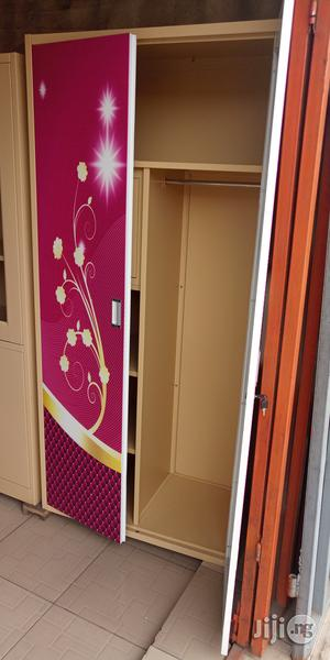 Imported Quality Full Height Metal Cabinet With Mirror And Hanger | Furniture for sale in Lagos State, Ojo