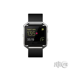 Fitbit Smart Fitness Watch Blaze - Black.   Smart Watches & Trackers for sale in Lagos State, Lagos Island (Eko)