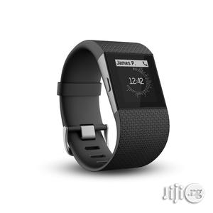 Fitbit Surge Black Size - Small   Smart Watches & Trackers for sale in Lagos State, Lagos Island (Eko)