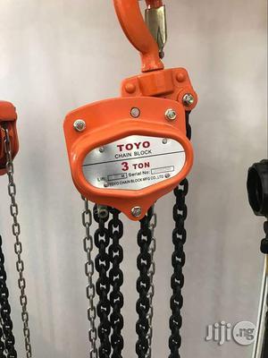 TOYO Chain Block 3ton | Manufacturing Equipment for sale in Lagos State, Lagos Island (Eko)