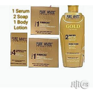 Pure White Gold Body Lotion,Serum and Soap   Skin Care for sale in Lagos State, Ojo