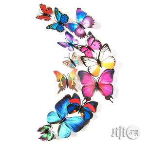 24pcs Artistic 3D Wall Sticker Butterfly | Home Accessories for sale in Lagos State, Ikeja