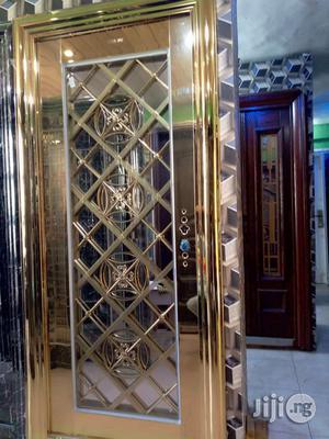 Gold Glass Door | Doors for sale in Lagos State, Orile