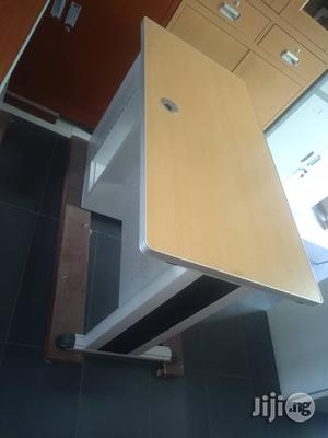 High Quality Metal Tables With Wooden Top 4feet | Furniture for sale in Lagos State, Lagos Island (Eko)