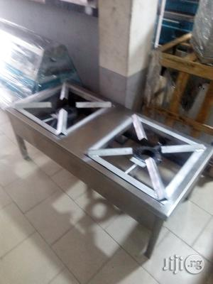 2 in 1 Industrial Stainless Gas Cooker   Restaurant & Catering Equipment for sale in Lagos State, Surulere