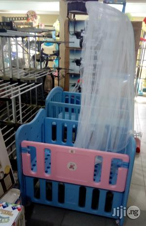 Baby All Round Plastic Bed   Children's Furniture for sale in Lagos State, Lagos Island (Eko)