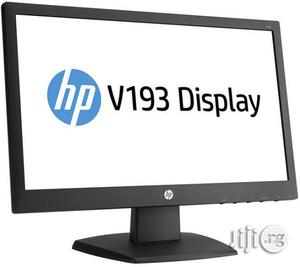 HP 18.5 Inch LED Monitor - V194 | Computer Monitors for sale in Lagos State, Ikeja