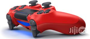 Dualshock 4 Wireless Controller For Playstation 4 - Magma Red | Accessories & Supplies for Electronics for sale in Lagos State, Ikeja