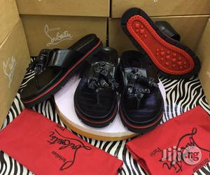 Quality Christian Louboutin Men's Slippers | Shoes for sale in Lagos State, Lagos Island (Eko)