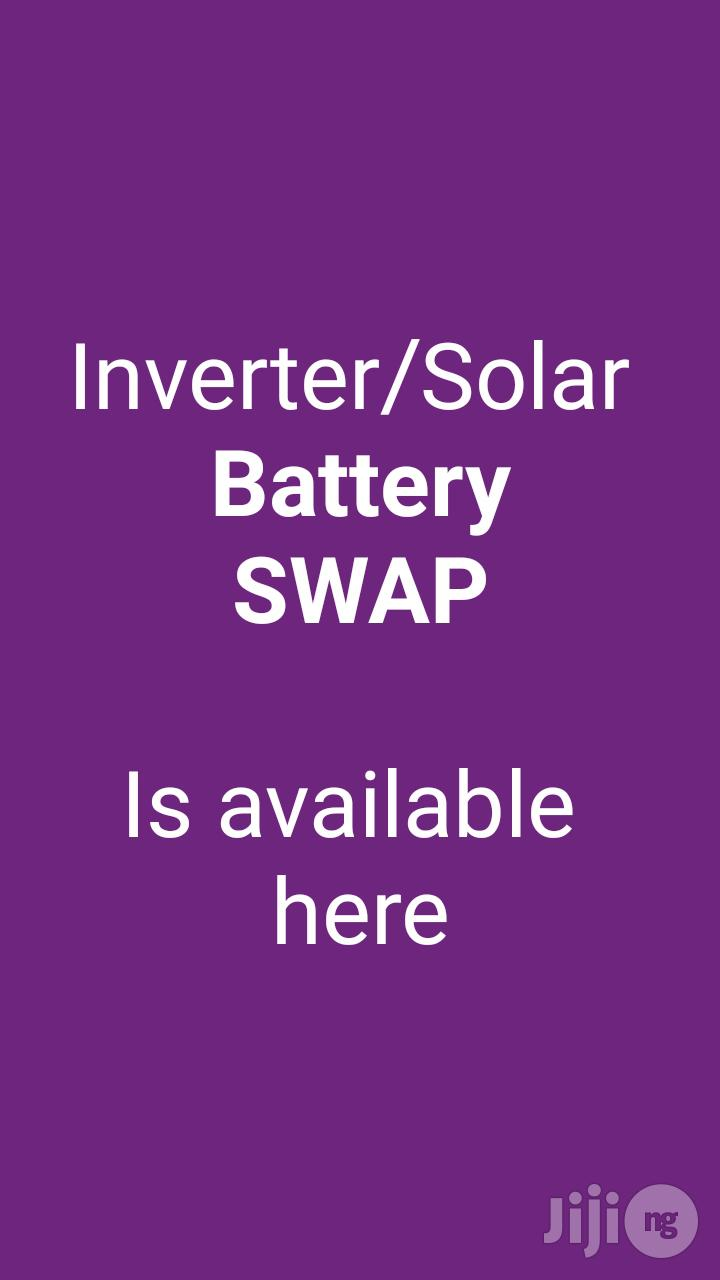 Archive: SWAP Inverter Battery In Lagos